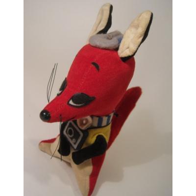 ドリームペッツなど ビンテージドリームペッツ・Dream Pets・米国輸出用日本製「フラッシュフォックス・レッド」