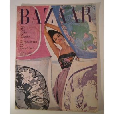 ファッション ビンテージマガジン「1959年6月号Bazaar・バザー」