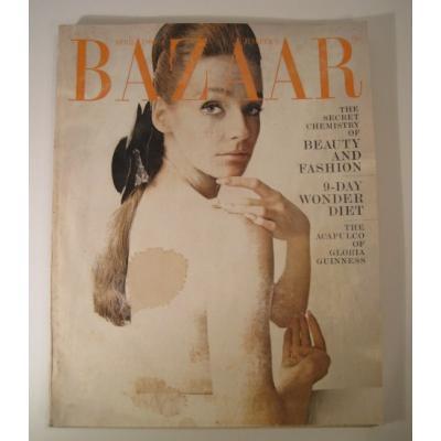 ファッション ビンテージマガジン「1966年4月号Bazaar・バザー」