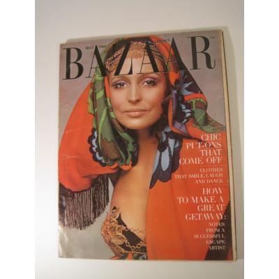 ファッション ビンテージマガジン「1969年5月号Bazaar・バザー」