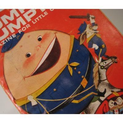 子供用マガジン ビンテージ子供用マガジン「1958年9月・Humpty Dumpty's Magazine for Little Children」