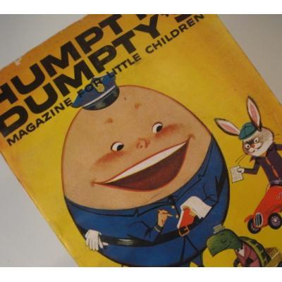 子供用マガジン ビンテージ子供用マガジン「1958年10月・Humpty Dumpty's Magazine for Little Children」