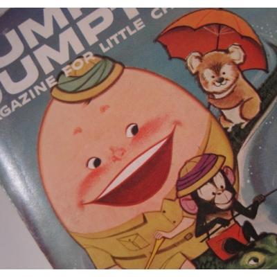 子供用マガジン ビンテージ子供用マガジン「1958年11月・Humpty Dumpty's Magazine for Little Children」