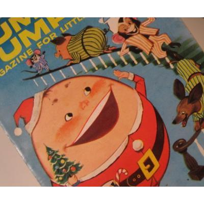 子供用マガジン ビンテージ子供用マガジン「1958年12月・Humpty Dumpty's Magazine for Little Children」