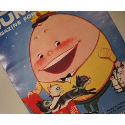 子供用マガジン ビンテージ子供用マガジン「1959年3月・Humpty Dumpty's Magazine for Little Children」
