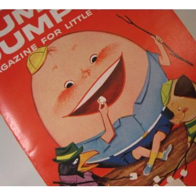 子供用マガジン ビンテージ子供用マガジン「1959年7月・Humpty Dumpty's Magazine for Little Children」