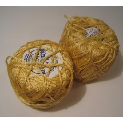シーツ&ハンドメイド素材 Royal Society・ゴールドイエロー・刺繍&編み物用スレッドスプール
