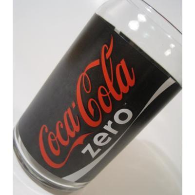アドバタイジング・組織系 Coca-Cola Zero・コカコーラゼロ・缶型グラス