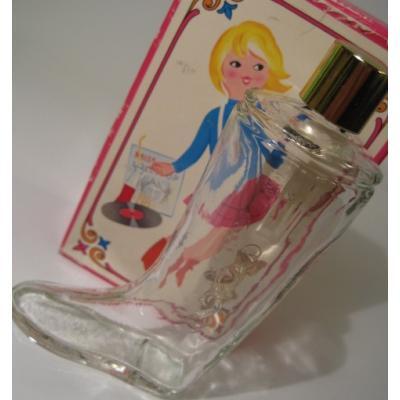 ヴィンテージ雑貨 ボックス付・AVON・エイボン「Miss Lolly pop」ブーツ型コロンボトル