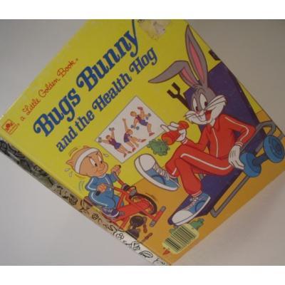 ルーニーチューンズ ビンテージ絵本「Bugs Bunny and the Health Hog」バックスバニー