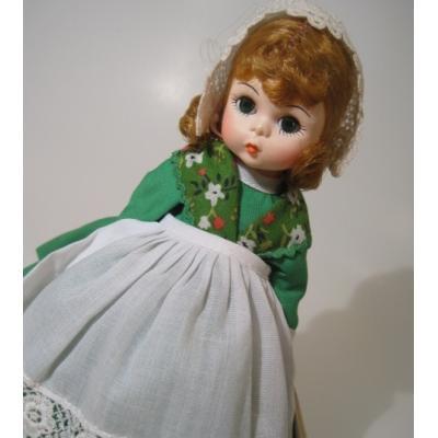 マダムアレキサンダー オリジナルタグ付・ビンテージ・マダムアレキサンダー・Alexander・International Dolls・「アイルランド」