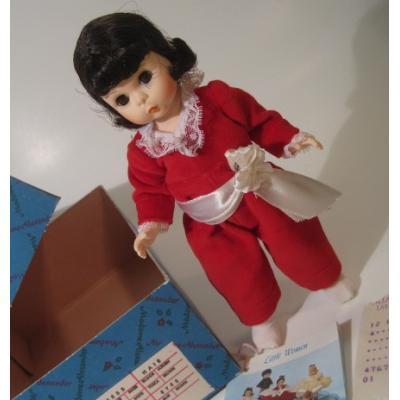 ドール 箱&タグ付・ビンテージ・マダムアレキサンダー「Red Boy」