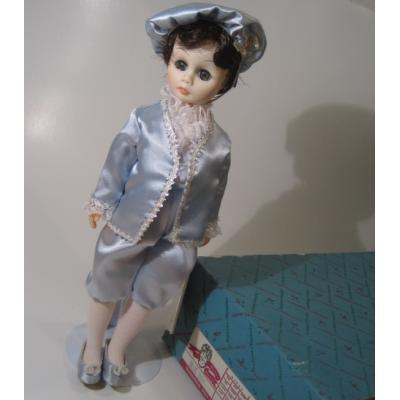 ドール 箱&タグ・スタンド付・ビンテージ・マダムアレキサンダー・Blue Boy