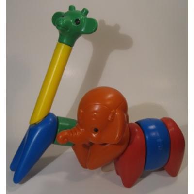米国製・タッパウェアトイ・Tupperware Toy・ソフトブロックセット・11ピースセット