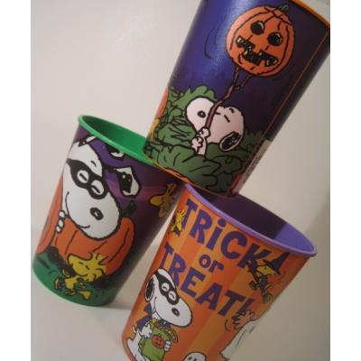 キャラクター 米国製・ホールマーク・BPA FREE・スヌーピー・ハロウィン・プラスチックカップ