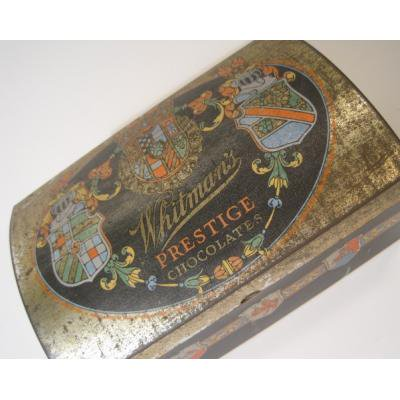 ティン缶 Whitman's Prestige Chocolates・チョコレートTIN缶