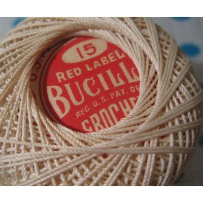 ビンテージ・Red Label Bucillr・ベージュグラデーションスプール【L】【画像2】