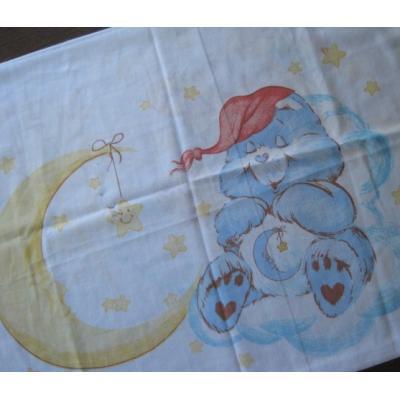 ビンテージキャラクターピローケース「ケアベア&太陽&月」