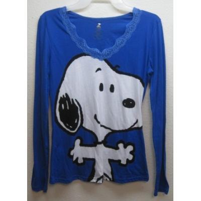 【女性用S〜M】デッドストック・未使用・スヌーピーロングTシャツ【画像2】
