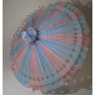 ベビー系デコレーション 紙製・出産祝いパーティーデコレーション「アンブレラ&デコレーションセット」