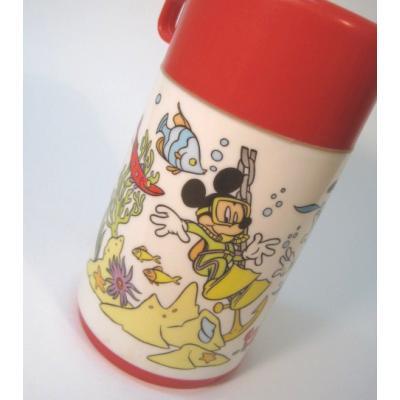 キャラクター アラジン・Aladin・ミッキーと仲間たちのスキューバーダイビング・サーモス水筒