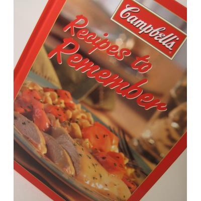 レシピブック Campbell's・Recipes to Rememberレシピブック