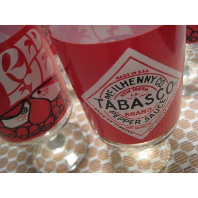 直近のソールドアウト Tabasco・フッテッドグラス