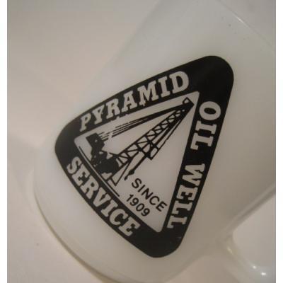 米国製・ギャラクシー・Pyramid Oil Well Service・アドマグ