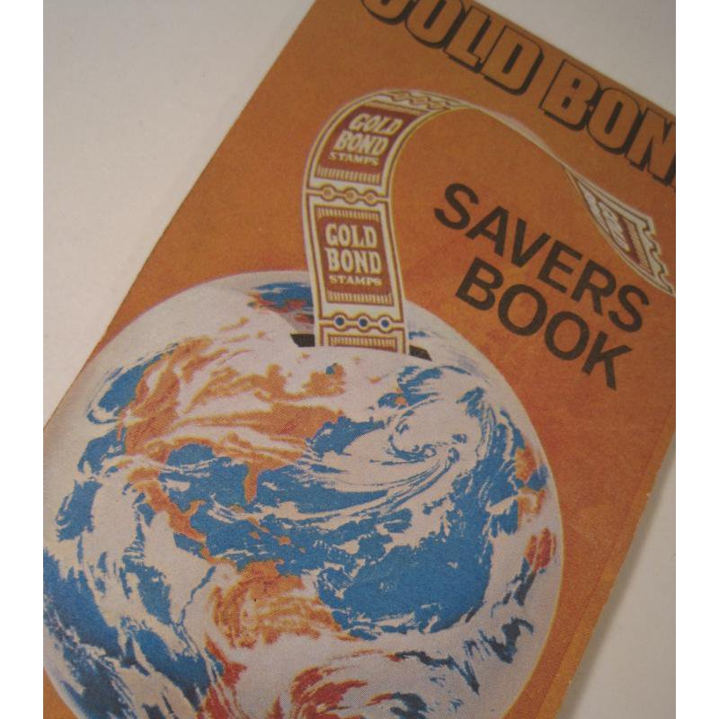 1930s〜1950s・ビンテージ・ショッピングスタンプブック・Gold Bond
