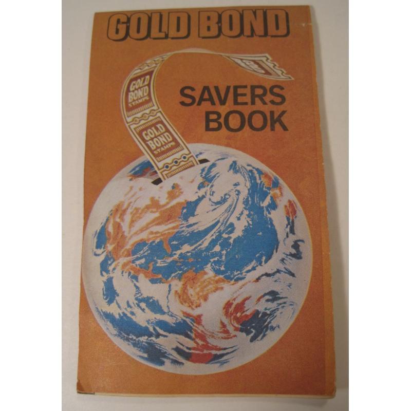 1930s〜1950s・ビンテージ・ショッピングスタンプブック・Gold Bond【画像2】