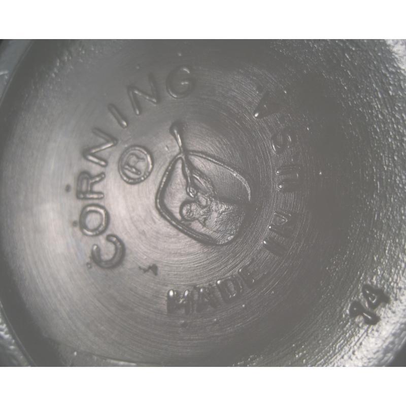 【訳あり・アウトレット】パイレックス・ダブルグリーンライン・チリボウル【A】【画像15】