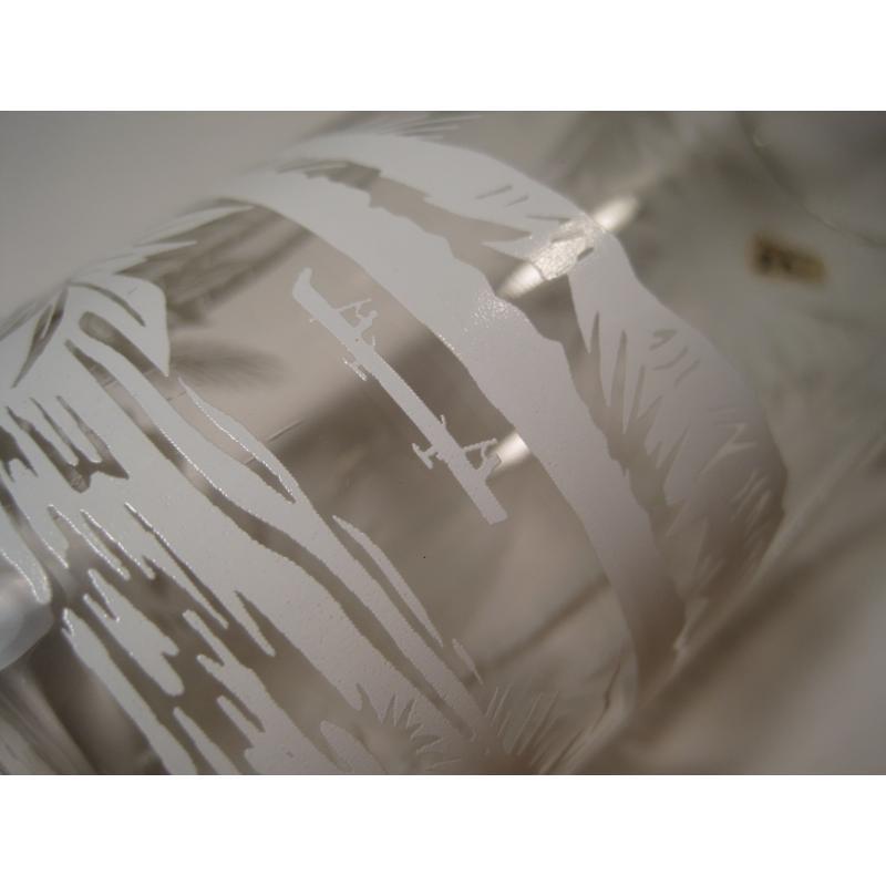 オリジナルプライスタグ付ビンテージ・パームツリー・トールグラス【画像7】