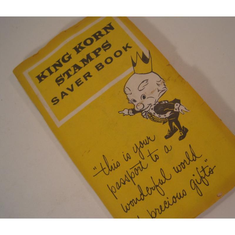 1930s〜1950s・ビンテージ・ショッピングスタンプブック・King Korn Stamps【B】