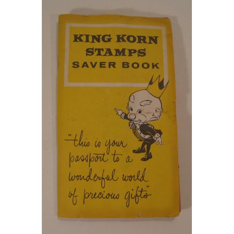 1930s〜1950s・ビンテージ・ショッピングスタンプブック・King Korn Stamps【B】【画像2】