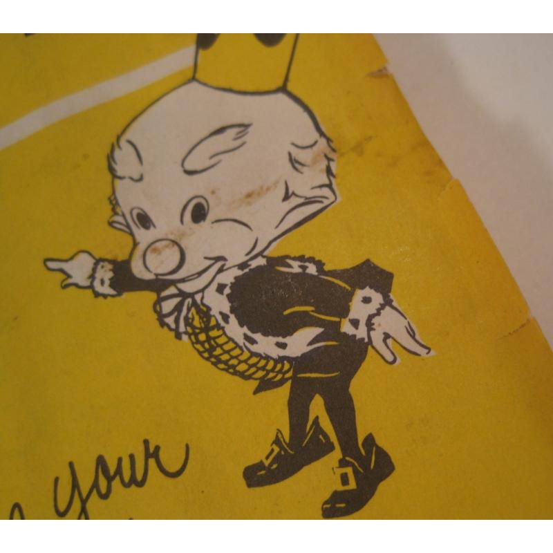 1930s〜1950s・ビンテージ・ショッピングスタンプブック・King Korn Stamps【B】【画像3】