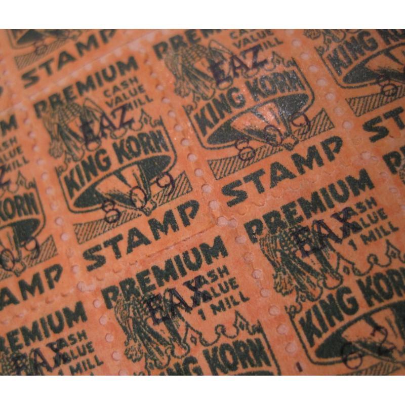 1930s〜1950s・ビンテージ・ショッピングスタンプブック・King Korn Stamps【B】【画像6】