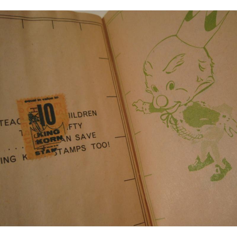 1930s〜1950s・ビンテージ・ショッピングスタンプブック・King Korn Stamps【B】【画像7】