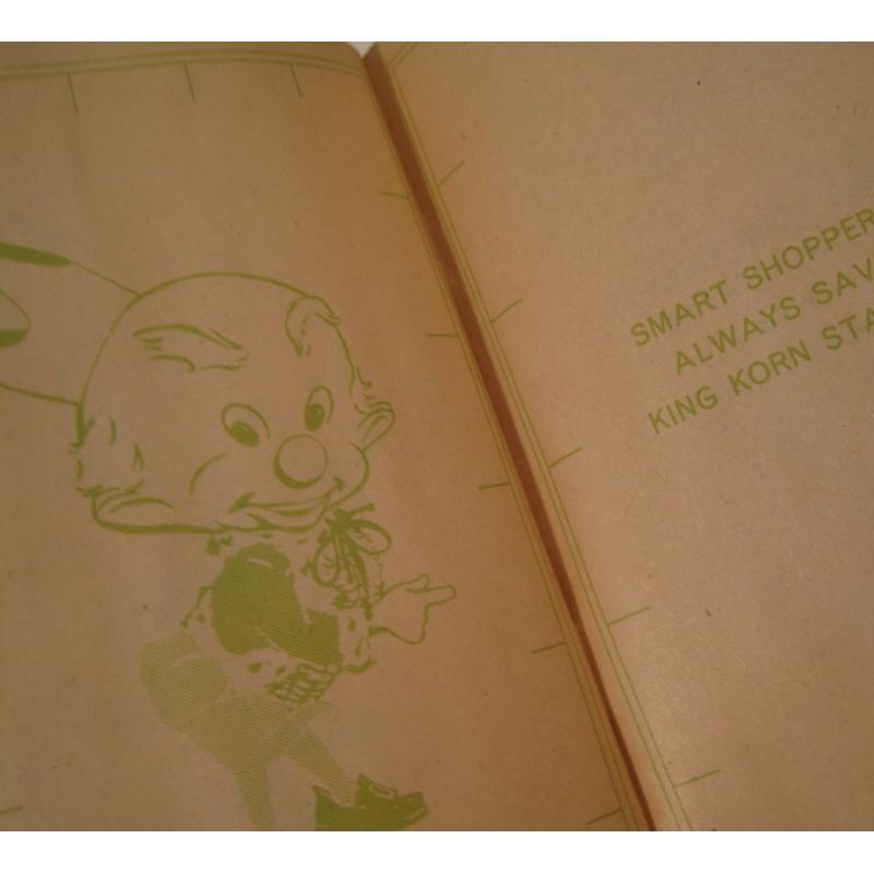 1930s〜1950s・ビンテージ・ショッピングスタンプブック・King Korn Stamps【B】【画像8】