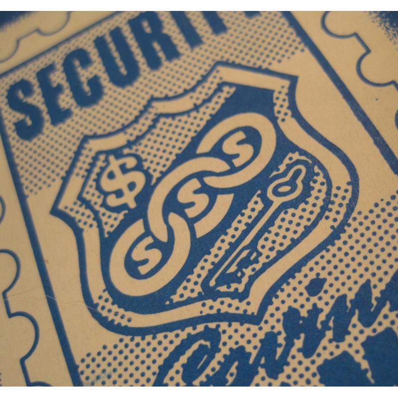 1930s〜1950s・ビンテージ・ショッピングスタンプブック・Security Saving【A】【画像3】