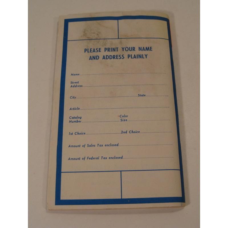1930s〜1950s・ビンテージ・ショッピングスタンプブック・Security Saving【A】【画像4】