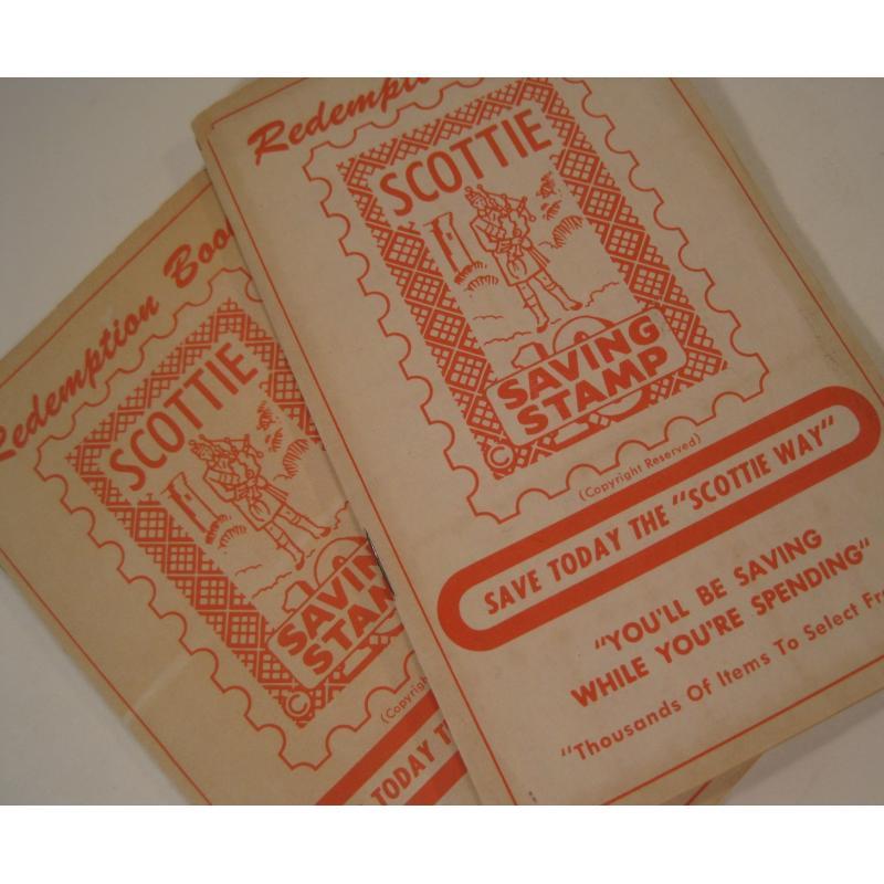 1930s〜1950s・ビンテージ・ショッピングスタンプブック・Scottie