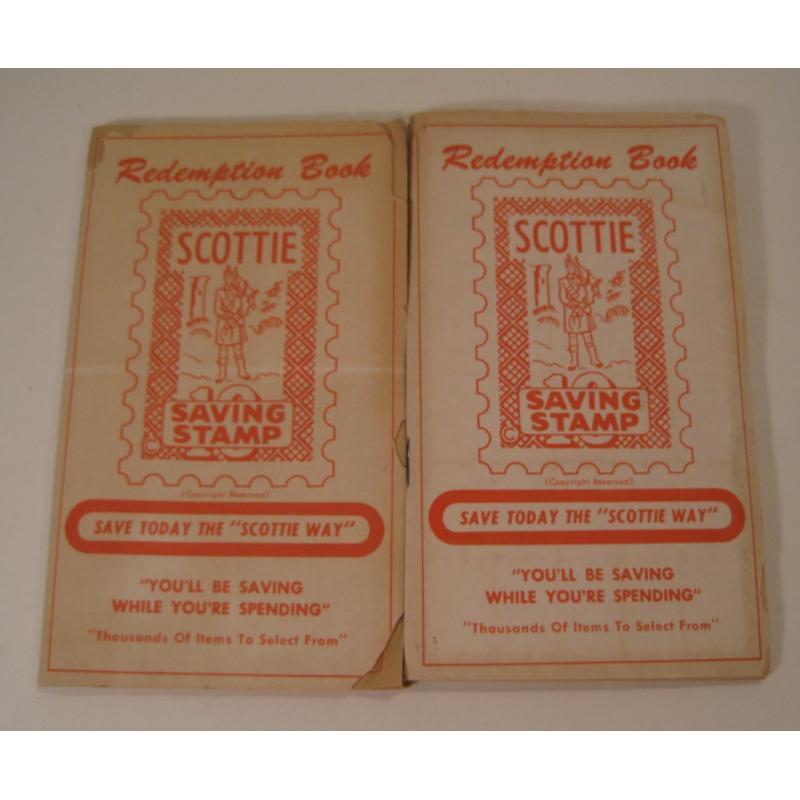 1930s〜1950s・ビンテージ・ショッピングスタンプブック・Scottie【画像2】