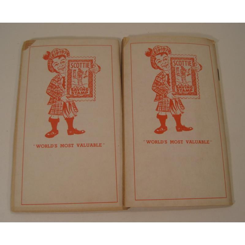 1930s〜1950s・ビンテージ・ショッピングスタンプブック・Scottie【画像3】