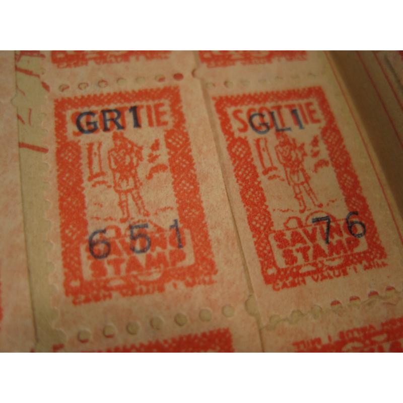 1930s〜1950s・ビンテージ・ショッピングスタンプブック・Scottie【画像5】