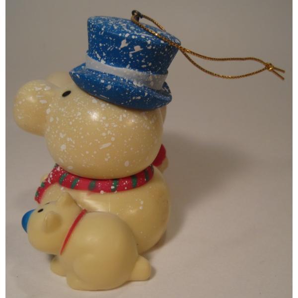 ヴィンテージクリスマスオーナメント・ジギー君とそっくり雪だるま【画像3】