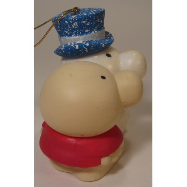ヴィンテージクリスマスオーナメント・ジギー君とそっくり雪だるま【画像5】