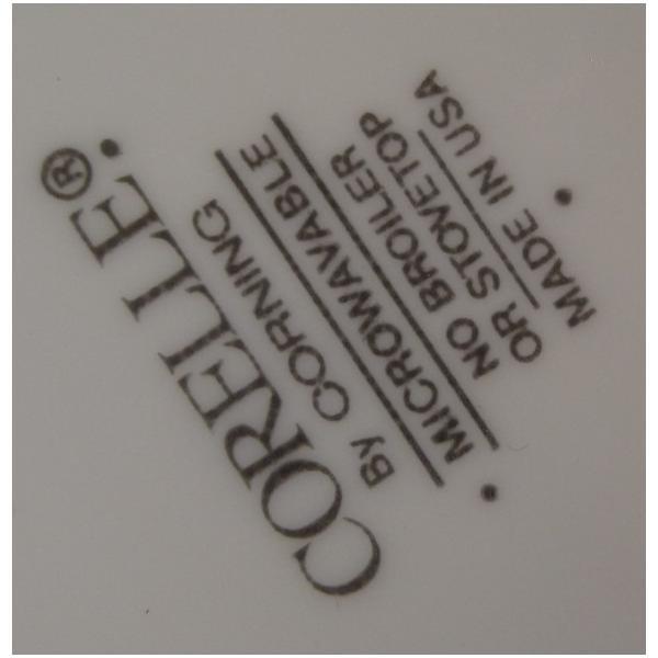 コーニング・コーレル・クリスマスひいらぎプリントサービングプレート【B】【画像9】
