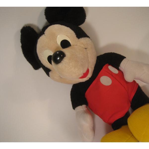 ミッキーマウスぬいぐるみ・ハスブロ社製・ヴィンテージ