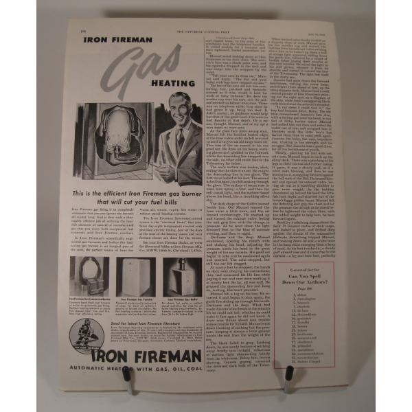 ヴィンテージ広告・アメリカ・シェービングクリーム・1949年【画像3】