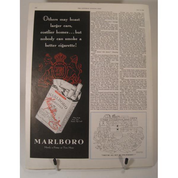 ヴィンテージ広告・アメリカ・モーター系・アトラスタイヤ・1949年【画像3】